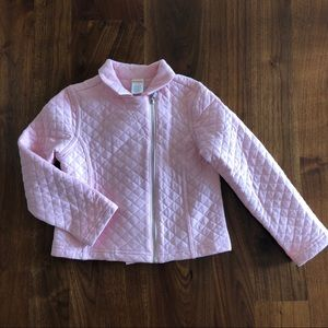 Gymboree Girls Quilted Jacket Size 5-6